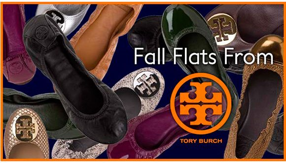 Fall Flats from Tory Burch @ Jildor Shoes