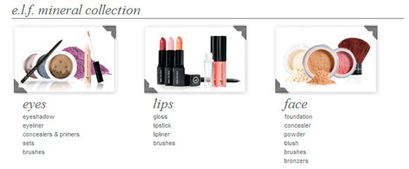 e.l.f. Mineral Makeup Collection