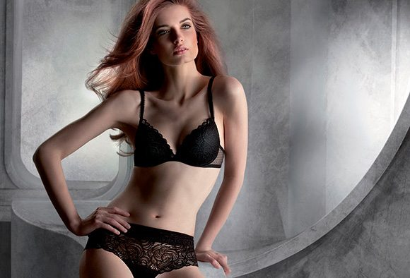 Hot lingerie for the cold season