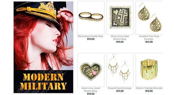 30% Off Modern Military Accessories Collection
