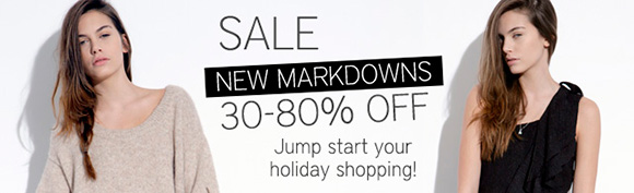 Holiday Sale at Tobi