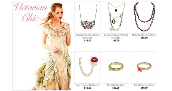 40% Off Victorian Chic Accessories