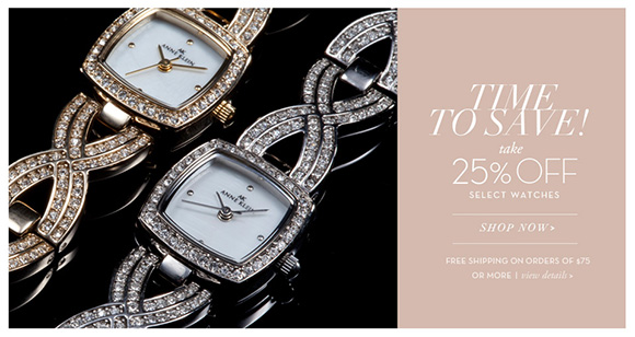 Anne Klein watches – time to save