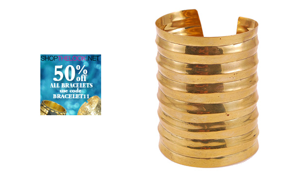 50% OFF all bracelets at ShopTheLook
