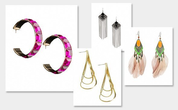 All earrings half price at ShopTheLook