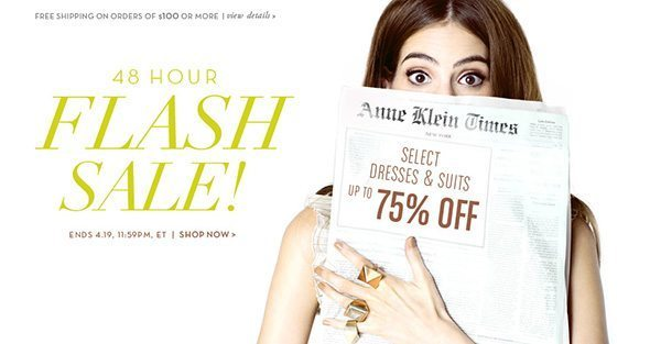Flash Sale @ Anne Klein