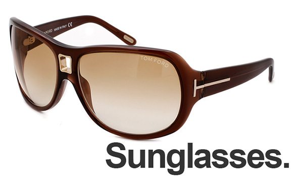 Free sunglasses with any purchase