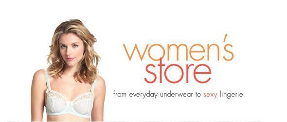 Lingerie clearance – up to 50% OFF