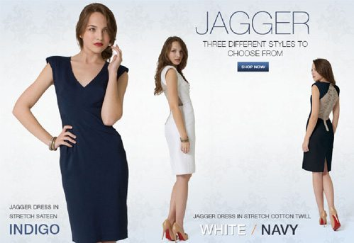 The Jagger Dress at Black Halo