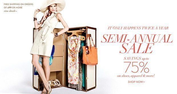 Semi-Annual Sale @ AnneKlein.com