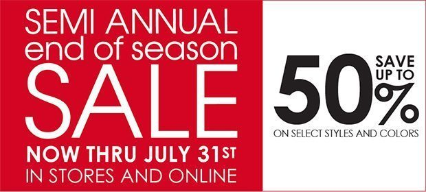 Summer Sale 2011 @ Michael Stars