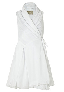Aditya white dress