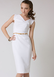 Original classic Jackie O white dress