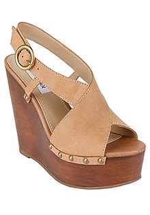 Waverrly Cognac High Wedge