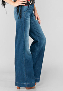 Daphne High Rise Wide Leg Jeans