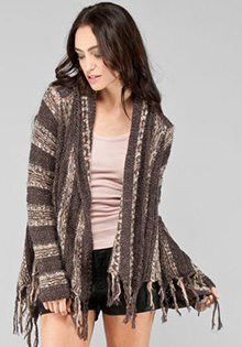 Runaway Love Wrap Sweater