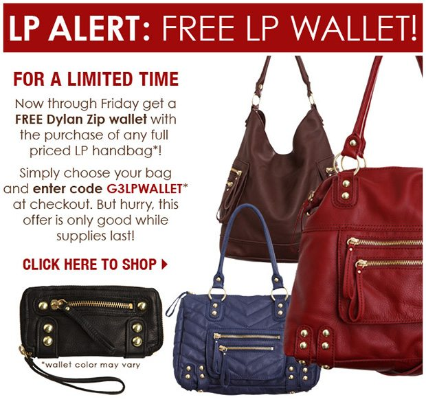 Linea Pelle Limited Time Promo