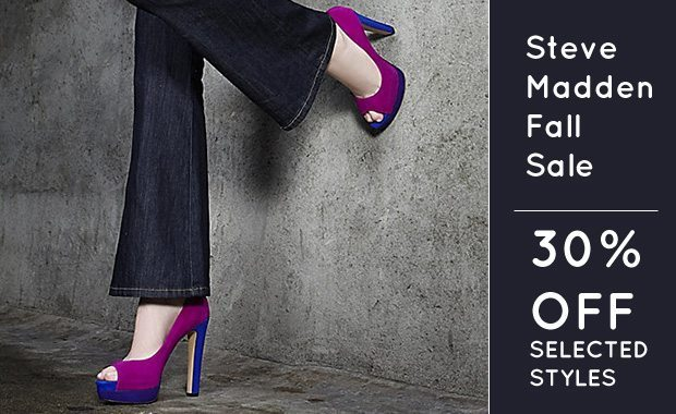 Fall Sale at Steve Madden