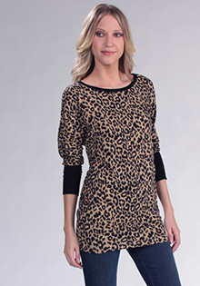 Black Diamond Leopard Dolman