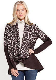 Cheetah Drape Jacket