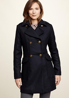 Perfect Tailored Peacoat