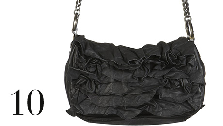 Bags in trends: Lilia Ruffles Clutch