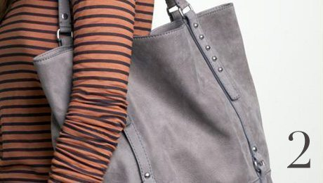 Bags in trends: Gap Leather Tote