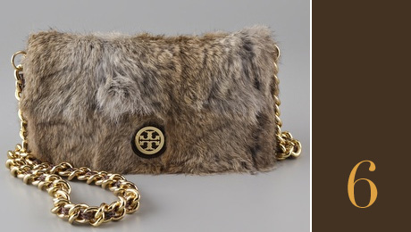 Bags in trends: Tory Burch Fur Bag