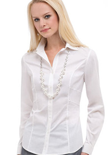 Fitted Shirt with Detail