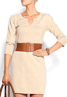 Slim Fit Knitted Dress