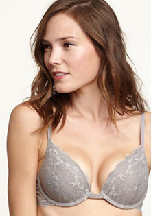 Favorite lace push-up bra