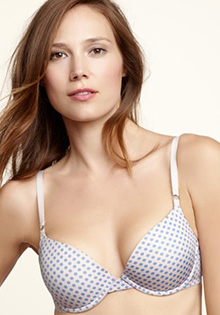 Impulse push-up bra