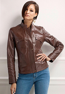 Jackets for fall: Leather Jacket