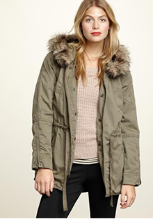 Jackets for Fall: Military Parka