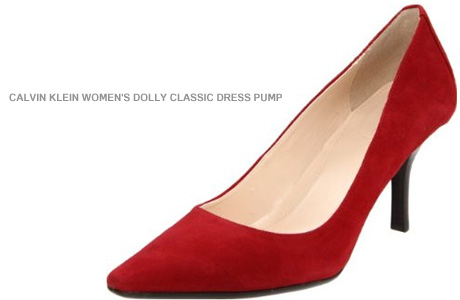 Red Shoes: The Classic Dress Pump