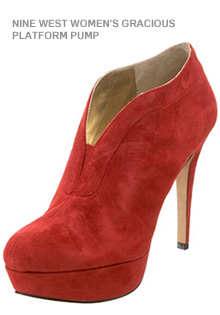Red Shoes: The Platform Pump