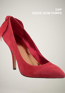 Red Shoes: The Bow Pumps