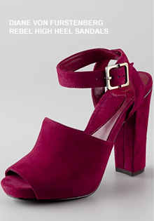 Red Shoes: The Buckles