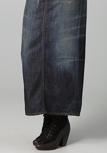 Dsquared2 Rodeo Denim Skirt