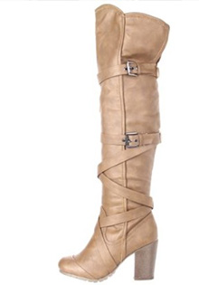 C Label Over The Knee Boots