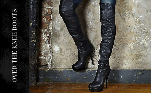 Over the knee boots January 2012