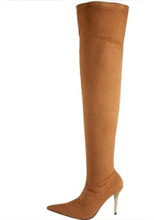 The Highest Heel Over The Knee Boots