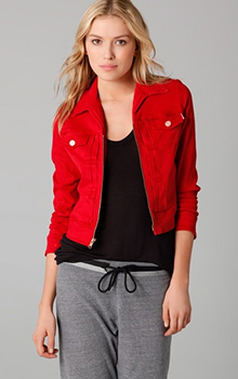 Pop Cropped Jacket