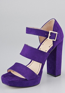 Shoes for Spring 2012 Sly Platform Sandals