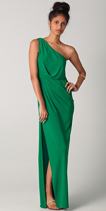 Snejana One Shoulder Gown
