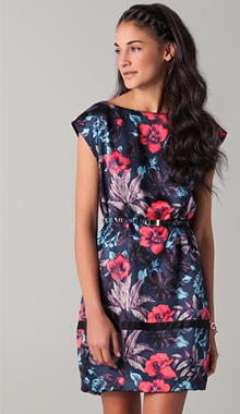 Havana Floral Dress