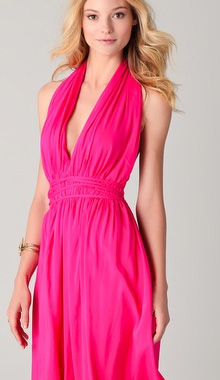 Mariposa Halter Dress