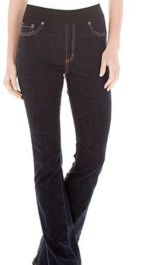 PULL ON FLARE JEAN