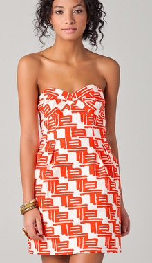 Reilly Zulu Print Party Dress