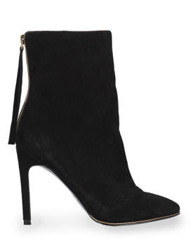 Mango Zip Ankle Boots